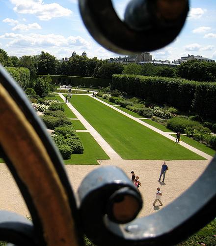Musee Rodin'in Bahçesi